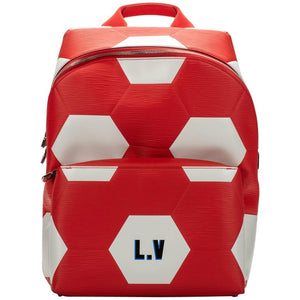 LOUIS VUITTON Fifa Red Backpack, 2018