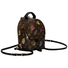 Load image into Gallery viewer, LOUIS VUITTON Limited Edition Mini Logo Backpack Bag
