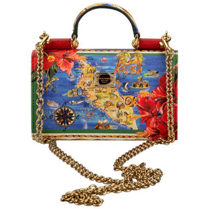 DOLCE AND GABBANA Von Bag Aruba Limited Edition Crossbody Bag