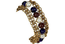 Load image into Gallery viewer, CHANEL 1970s Gripoix Bracelet