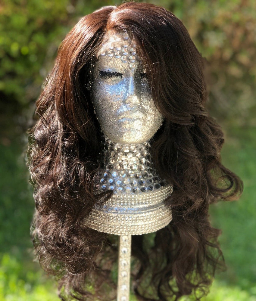 Zamara    18 inch  Natural Brown Free Part Lace Closure