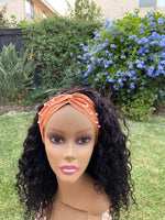 Deep Wave Headband Wig 16 inch