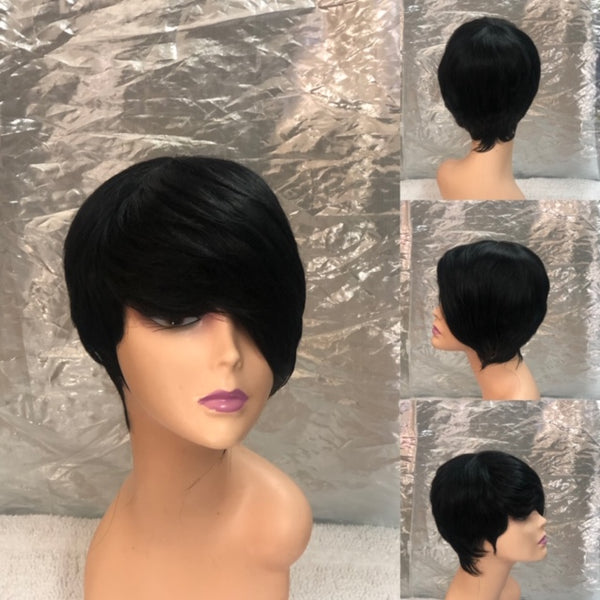 Diann              Janet Collection Human Hair Pixie Cut