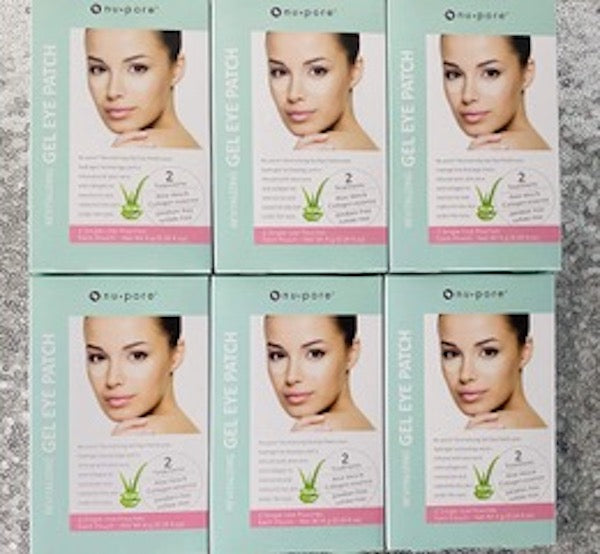 6pk-12ct  Nu-Pore Under Eye Gel Patch