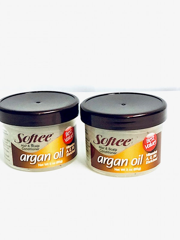 Softee Hair & Scalp Treatment Hair Care 2pk