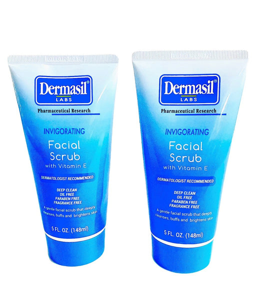 Dermasil Labs Invigorating facial scrub with vitamin E
