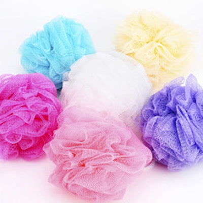 Exfoliating Bath Loofah  3PACK Random Colors