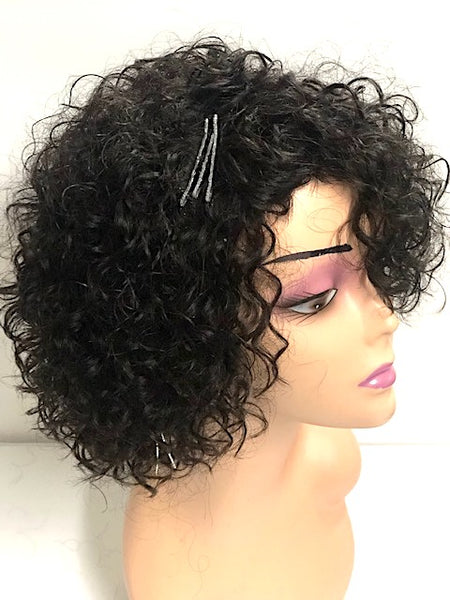 MYA  10 inch Curly Afro Wig