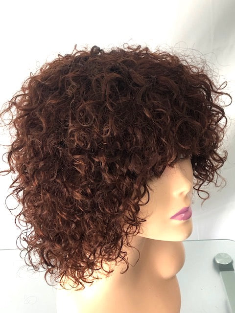 MYA  8 inch Curly Afro Wig