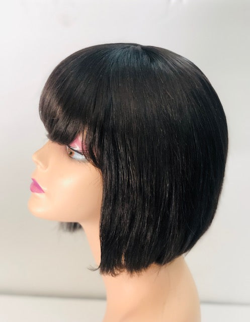 Vivian   10 inch BoB with Free Part Closure Wig