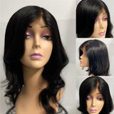 Whitney   Human Hair Body Wave 18 inch Lace Frontal Wig