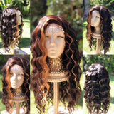 Zamara    22 inch  Natural Brown Free Part Lace Closure
