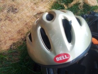 Bell Bicycle Helmet Used