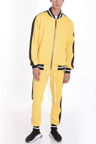RALLY TRACK SET PANT AND JACKET - YELLOW