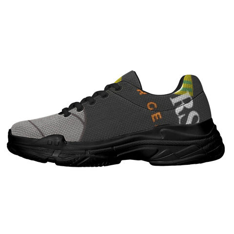 SportsGearOutdoors Black Sole Sneakers