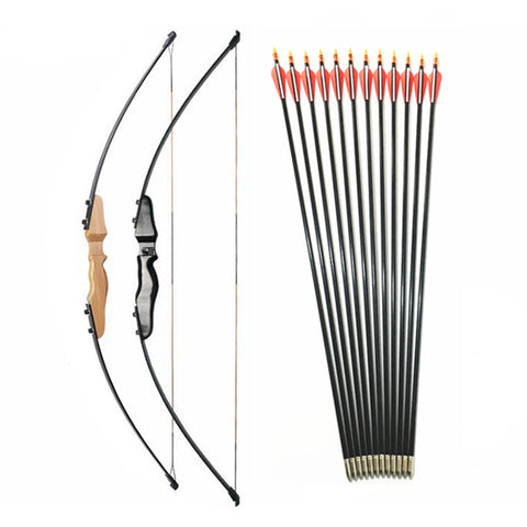 Kids Archery Straight Bow 30-40 lbs