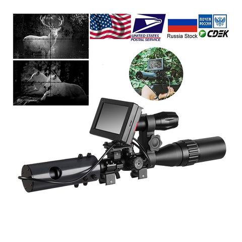 Fire Wolf 850nm Night Vision Rifle Scope Sight and Camera