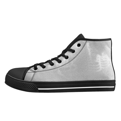 SportsGearOutdoors Black High Top Canvas Shoes