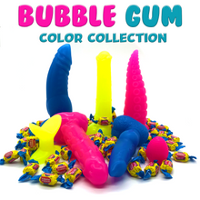 Load image into Gallery viewer, Bubble Gum Collection - Platinum Silicone Dildos