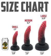 Load image into Gallery viewer, Red Dragon - Fantasy Dildo - Silicone Dildo - Sex Toy - Adult Toy