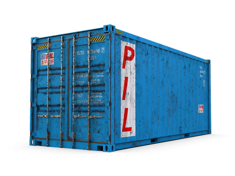 Used 20ft Shipping Containers - Dallas