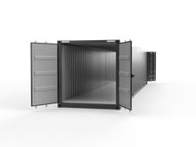 New 40ft Double Door Shipping Container - Boston