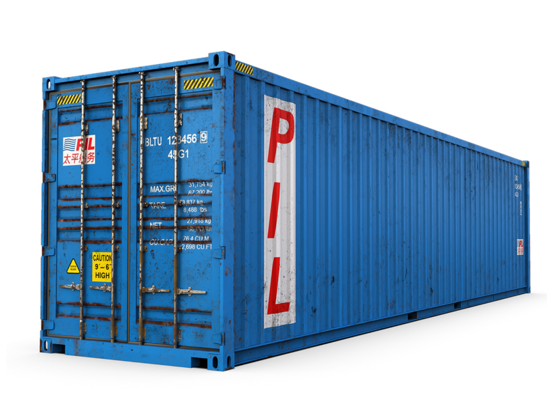 Used 40ft Shipping Container - Portland