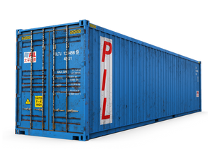 Used 40ft Shipping Container - Boston