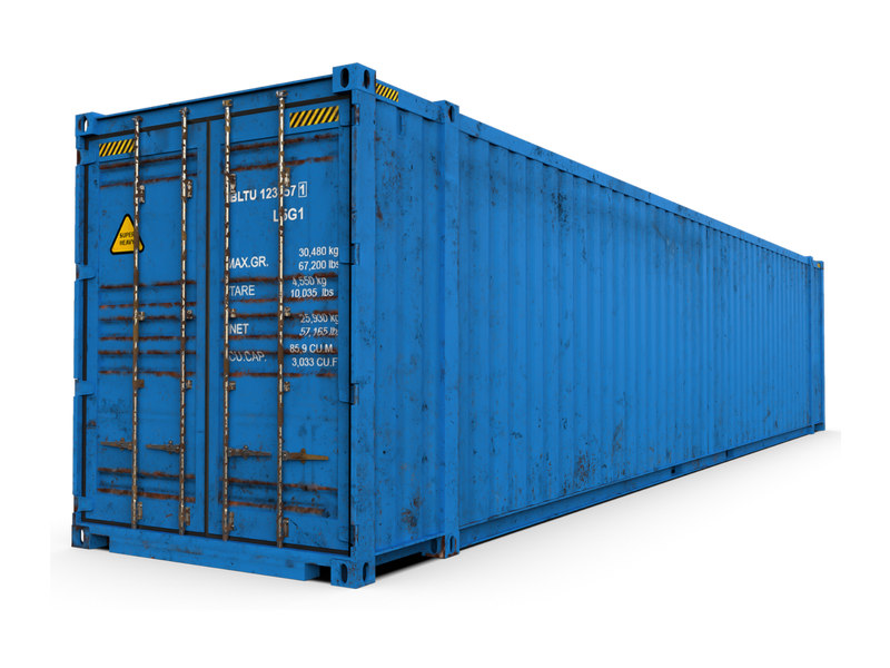Used 45ft High Cube Shipping Containers for Sale