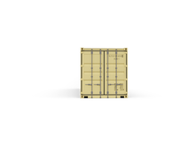 New 40ft Shipping Container-Grey-ContainerDiscounts.com