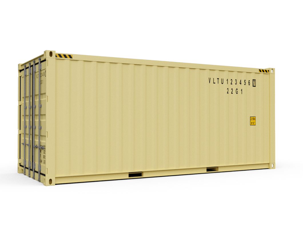 New 20ft Shipping Container - Boston
