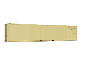 New 40ft Shipping Container-Tan-ContainerDiscounts.com