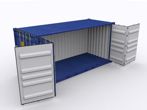 New 20ft Open Side Shipping Container-ContainerDiscounts.com