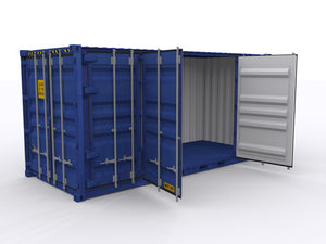 New 20ft Open Side Shipping Container - Houston