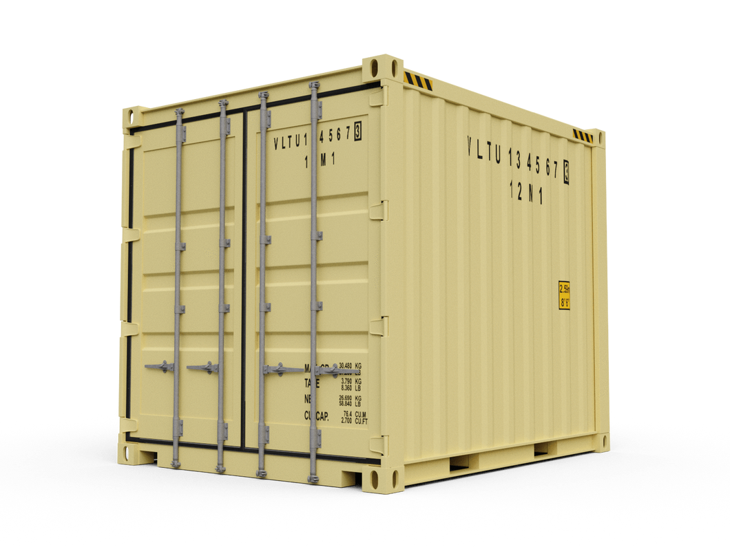 New 10ft Shipping Container - Columbus