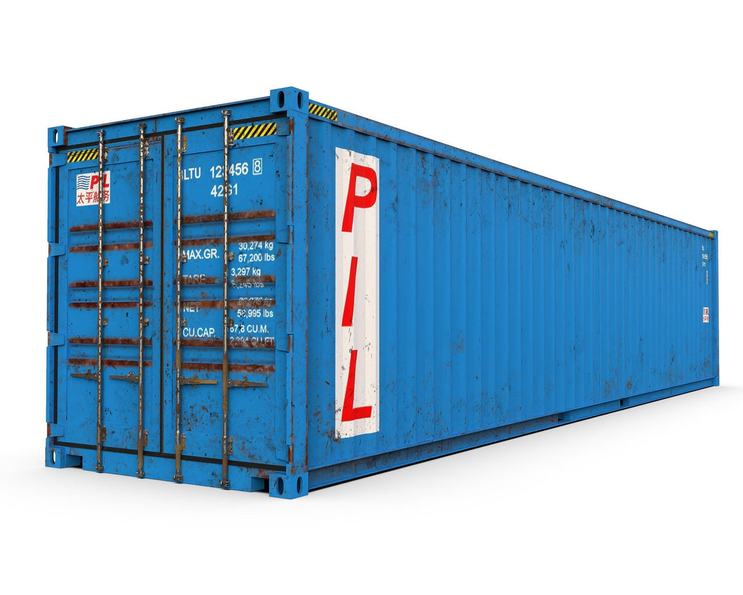 Used 40ft Shipping Container-Cargo Worthy-ContainerDiscounts.com