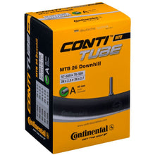 Load image into Gallery viewer, Continental MTB Downhill 26 x 2.3 - 2.7 Inner Tube - Schrader Valve
