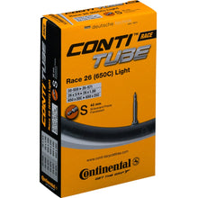 Load image into Gallery viewer, Continental Race Light 26 x 1.0 / 650 x 20 - 25 Inner Tube