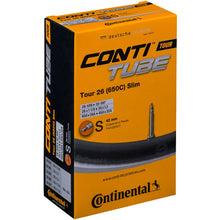 Load image into Gallery viewer, Continental Tour 26 x 1.10 - 1.30 Inner Tube - Presta Valve