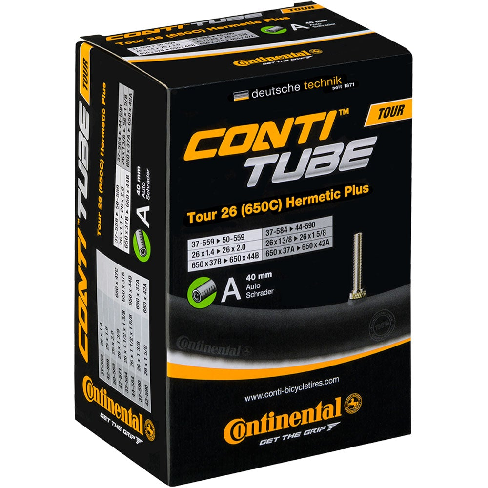 Continental Tour 26 x 1.30 - 1.75 Hermetic Plus Inner Tube