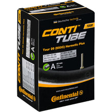 Load image into Gallery viewer, Continental Tour 26 x 1.30 - 1.75 Hermetic Plus Inner Tube