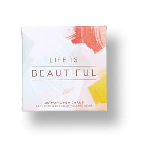 Life Is Beautiful Thoughtfulls Pop-Up Cards