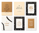 Moments of Love Milestone Cards