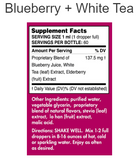Blueberry and White Tea