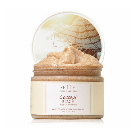 Coconut Beach Whipped Shea Butter Body Polish