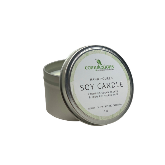 5oz Complexions Tin Candle