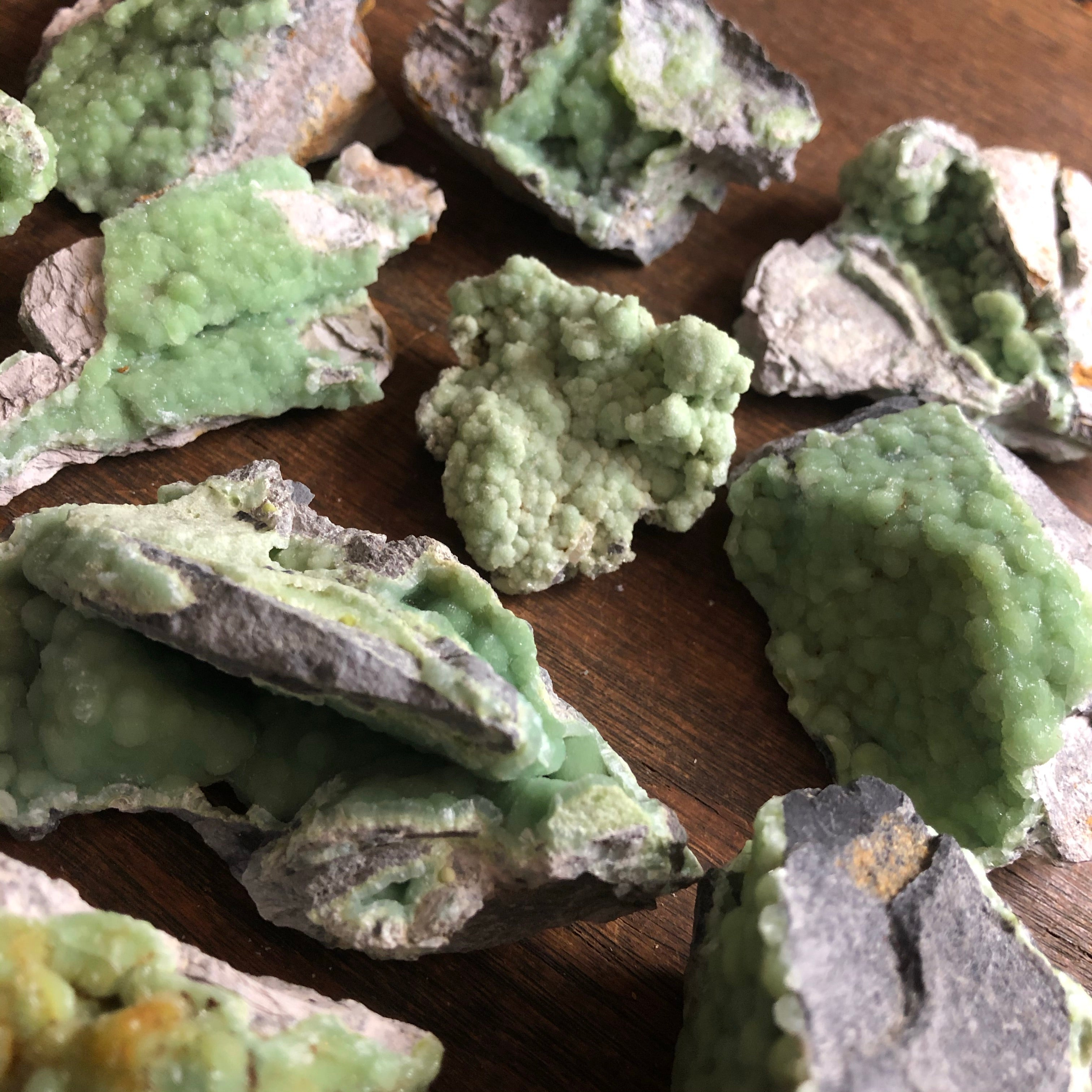 Mystery Wavellite Cluster