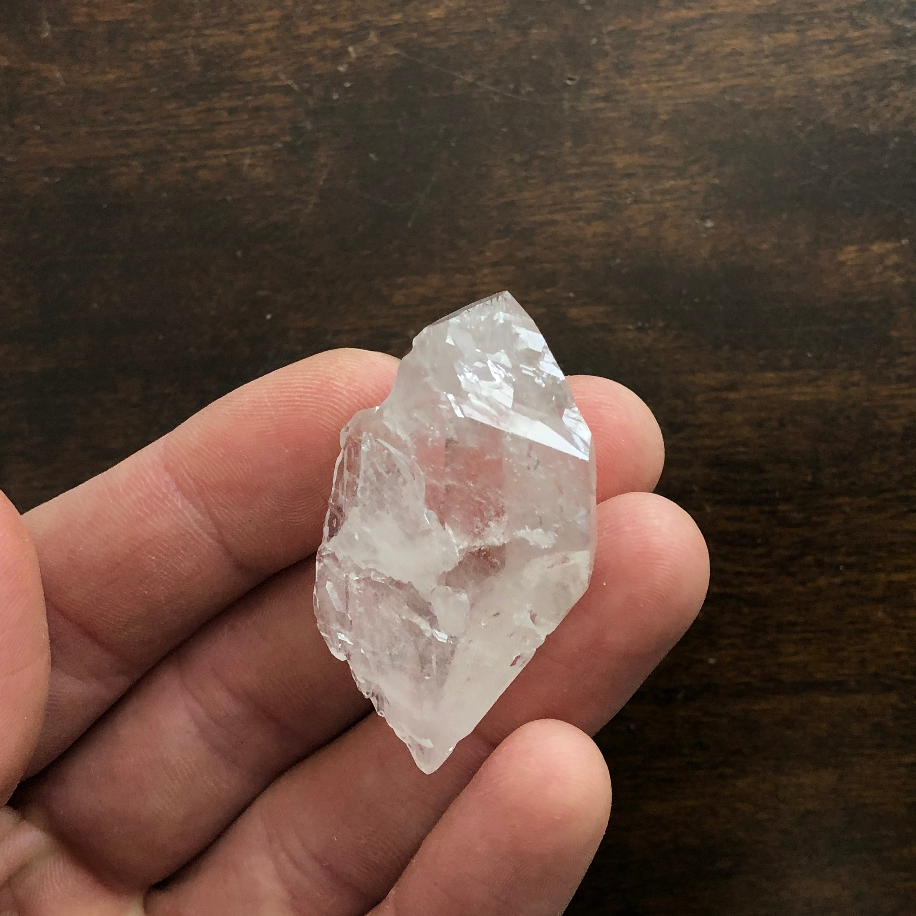 Dogtooth Arkimer Cathedral DT Quartz Crystal Point