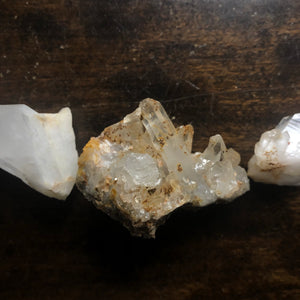 Mystery set of 33 Quartz Crystals from the Ouachita Mountains