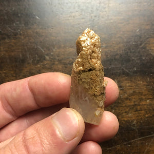 High Vibrational Sand included Quartz Crystal Point, Starbrary Manifestation magic